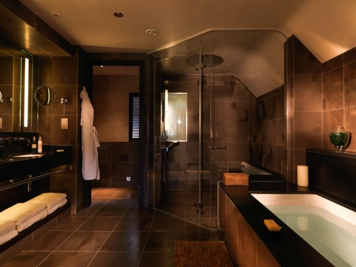une-baignoire-encastrable-design-baignoire-sabot-design-inspiration-en-brun-cool