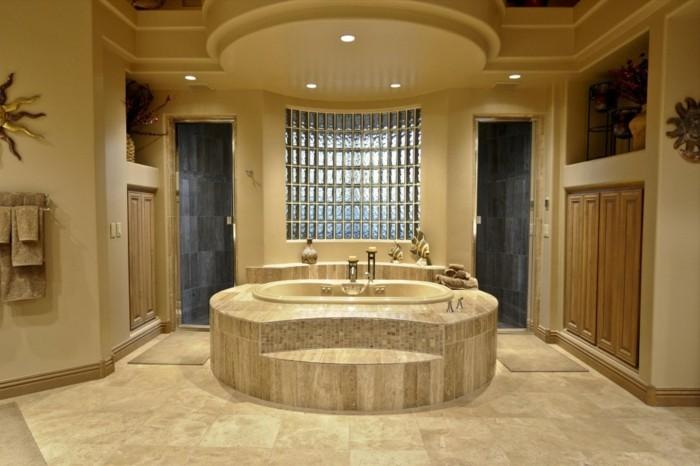Belles id es avec la baignoire design for Baignoire ronde encastrable