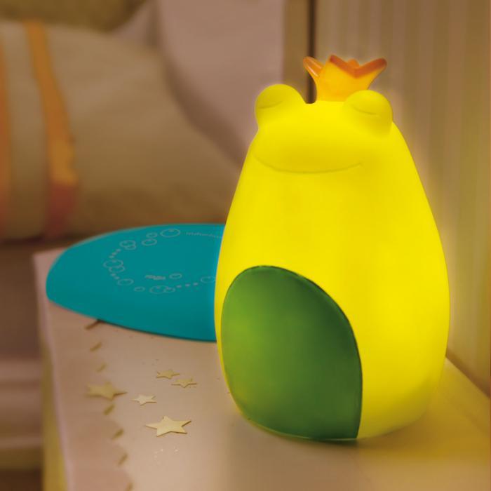 veilleuse'pour-bébé-grenouille-jaune