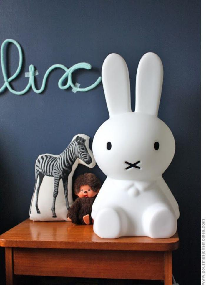 veilleuse-pour-bébé-lampe-veilleuse-lapin-blanc