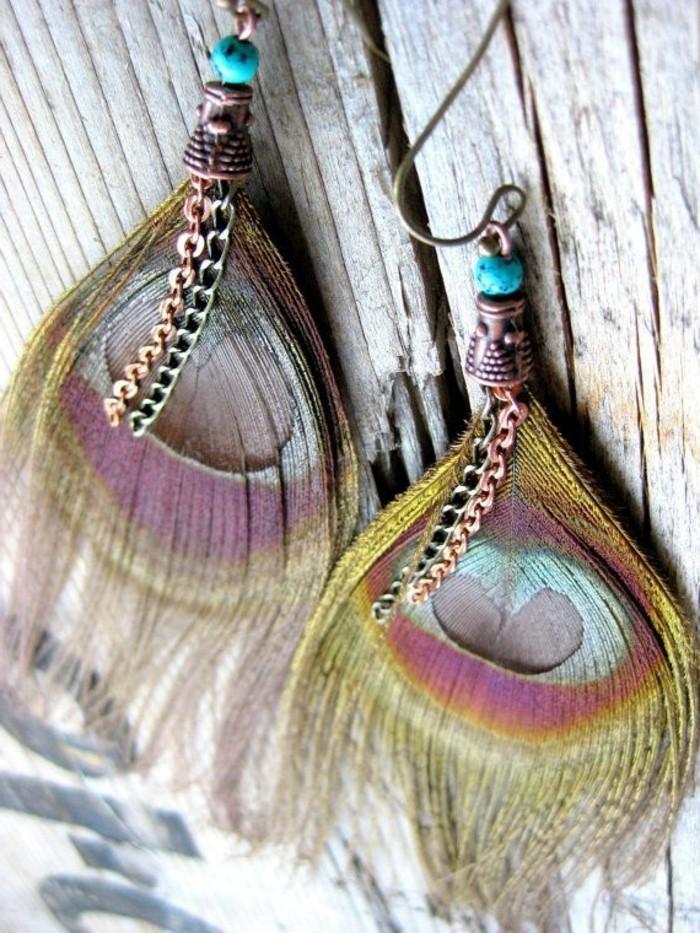 0-boucle-d-oreil-moderne-boucle-d-oreille-plume-coloré-fille-mode