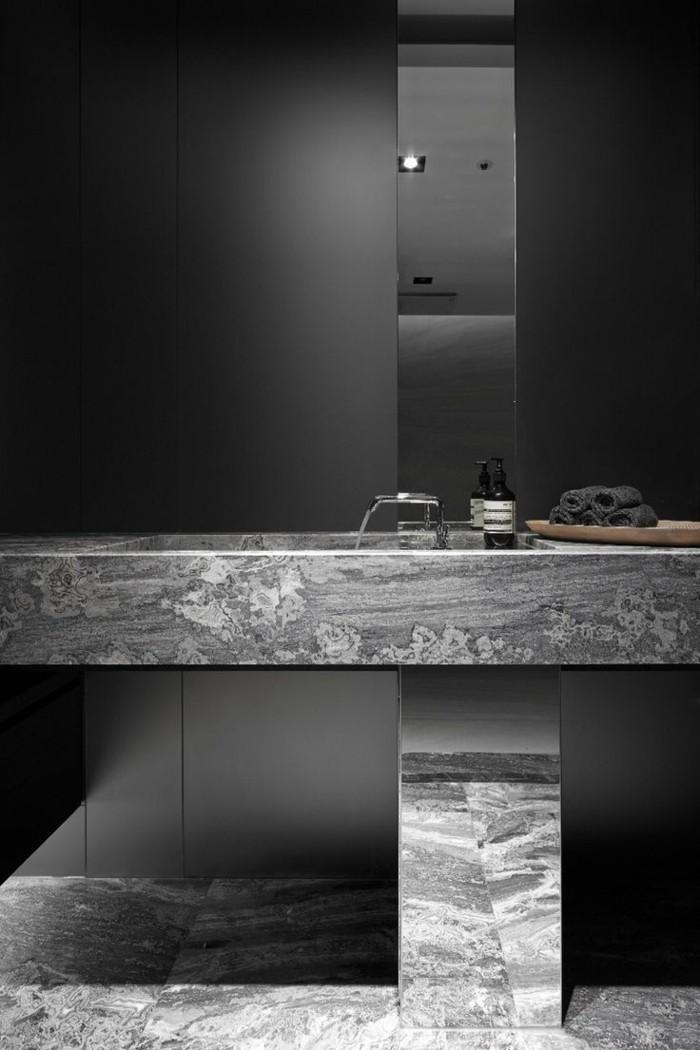 Faience Pour Salle De Bain Chic : La beauté de salle bain noire en images