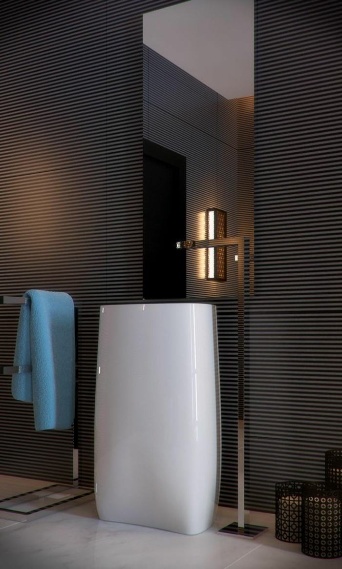 Exemple salle de bain moderne for Relooker une salle de bain