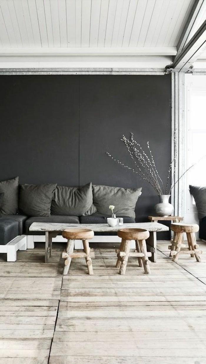 0-joli-salon-rustique-meubles-en-bois-clair-murs-gris-dans-le-salon-chic-sol-en-bois