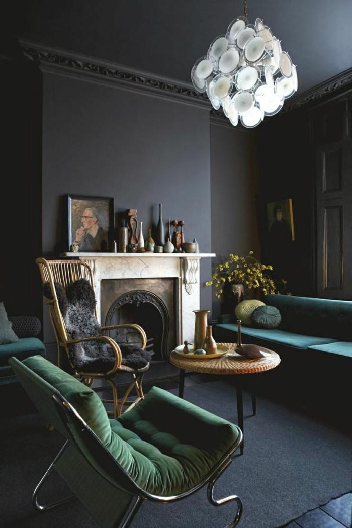 0-le-meilleur-salon-avec-mur-de-couleur-ral-gris-anthracite-canape-vert-style-retro