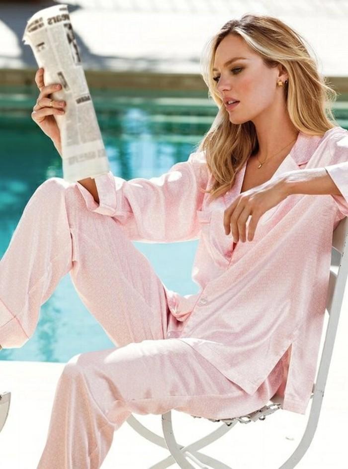 0-pijama-pas-cher-femme-rose-pour-les-filles-modernes-femmes-modernes-blondes