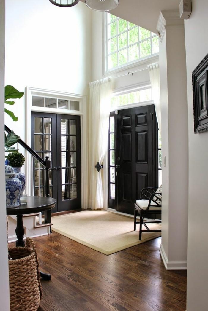 La porte d entr design en 40 photos - Comment changer une porte d entree ...
