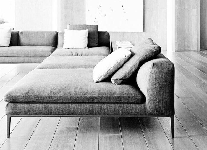 41 images de canapé d\'angle gris qui vous inspire!