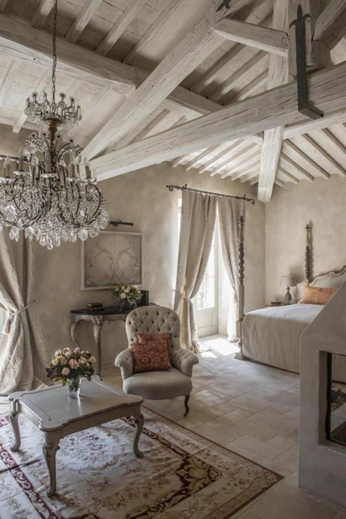 Les meubles shabby chic en 40 images d 39 int rieur for Decoration interieur style campagne