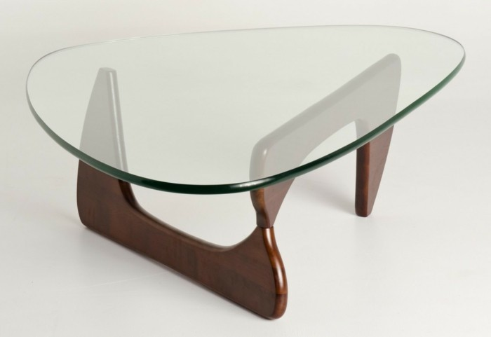 La table basse bois et verre en 43 photos d 39 int rieur - Table basse salon en verre ...