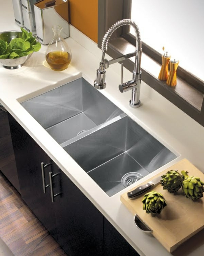 big kitchen sink beaucoup de variantes d 233 vier de cuisine en photos 1653