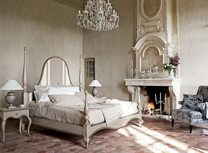 La chambre style baroque nos propositions en photos for Chambre in french