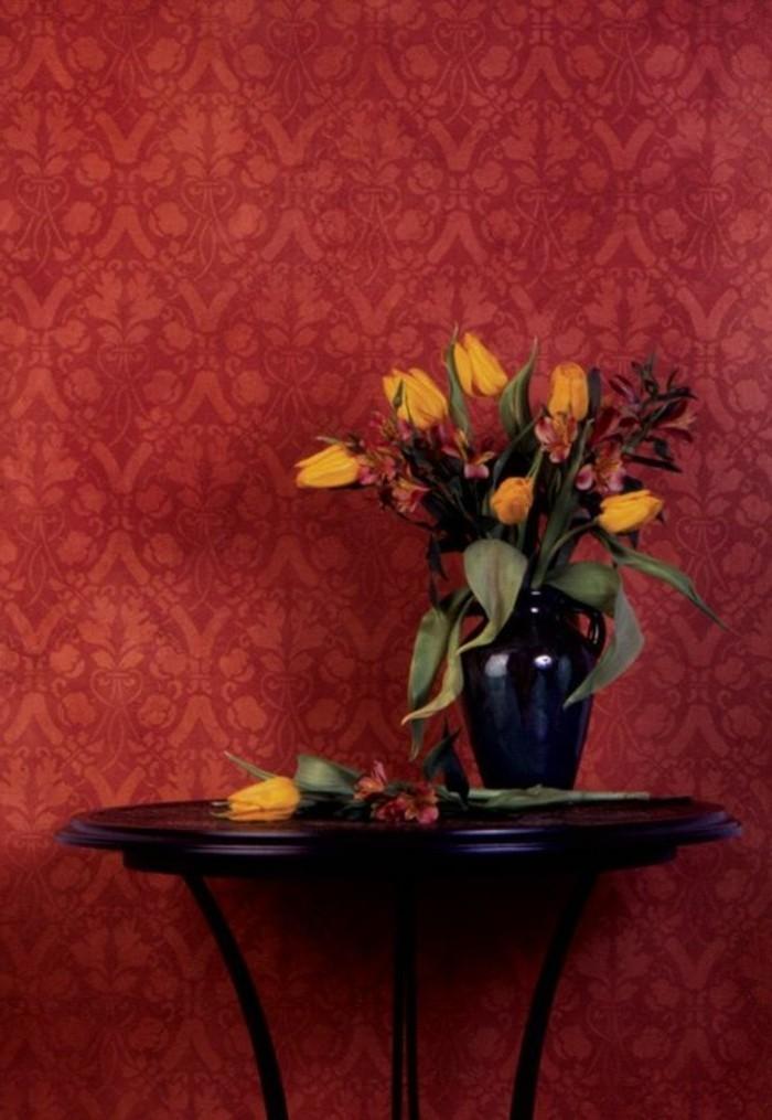Les papiers peints design en 80 photos magnifiques for Idee couleur papier peint pour couloir