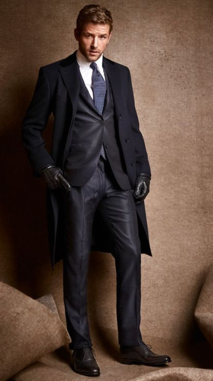 Le Costume Gris Anthracite Homme En 40 Photos
