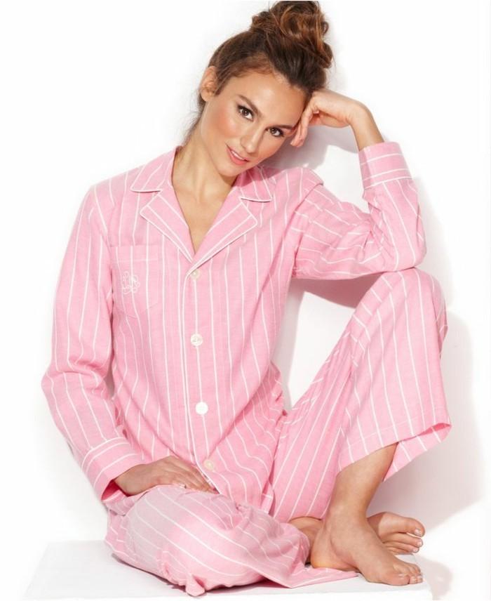00-etam-pyjama-pyjama-en-pilou-femme-rose-pale-a-rayures-blancs-modele-moderne