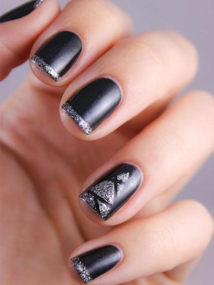 00-ongles-décorés-deco-ongle-gel-ongles-noires-jolie-idee-deco-ongle
