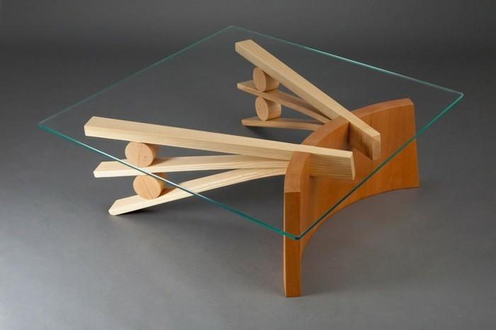 ★ La table basse bois et verre en 43 photos d'intérieur!