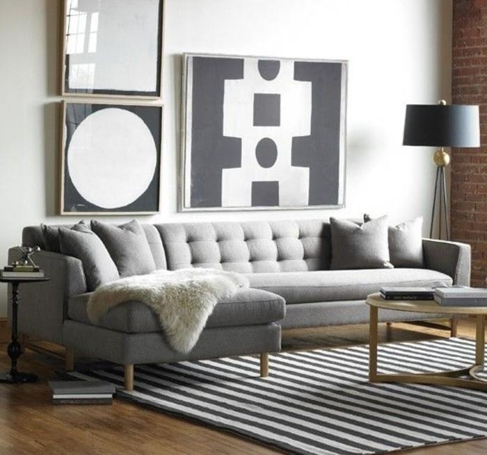 41 images de canap d angle gris qui vous inspire - Mousse seche pour canape ...