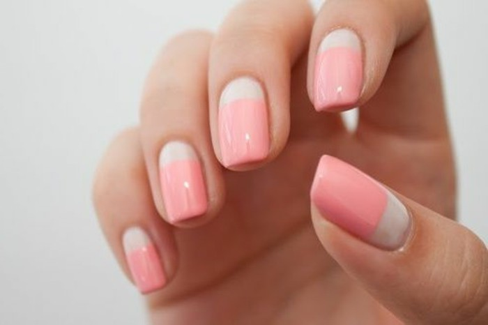 41 id es en photos pour vos ongles d cor s for Couleur rose pale