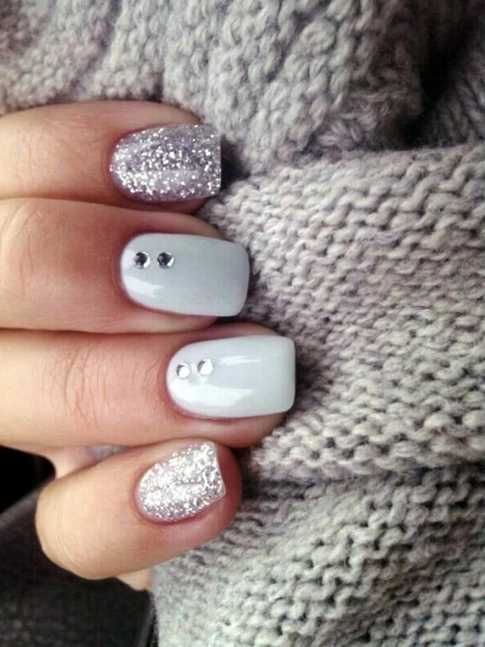 000-ongles-décorés-deco-ongle-gel-modele-ongle-gel-de-couleur-gris-mode