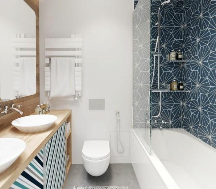 Mille id es d am nagement salle de bain en photos - Tapis salle de bain original ...