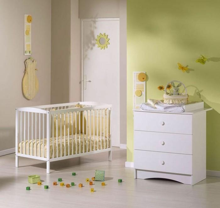 1-chambre-bebe-complete-pas-cher-deco-chambre-garçon-murs-verts-clairs-jolie-idee