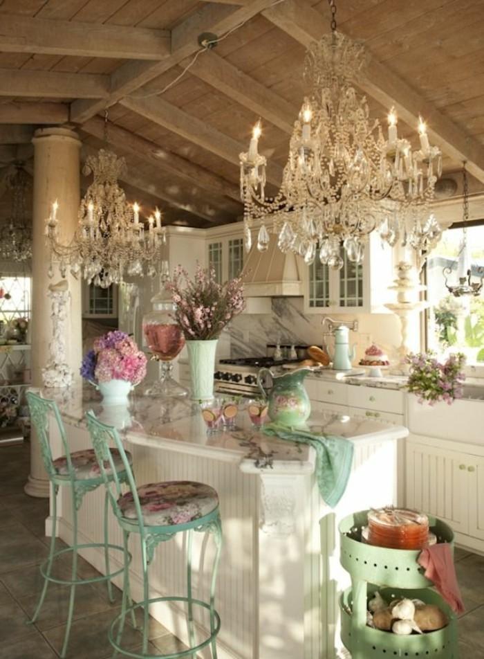 1--cuisine-meuble-gustavian-tapisserie-kitch-quels-meubles-choisir-pour-la-cuisine-shabby-chic
