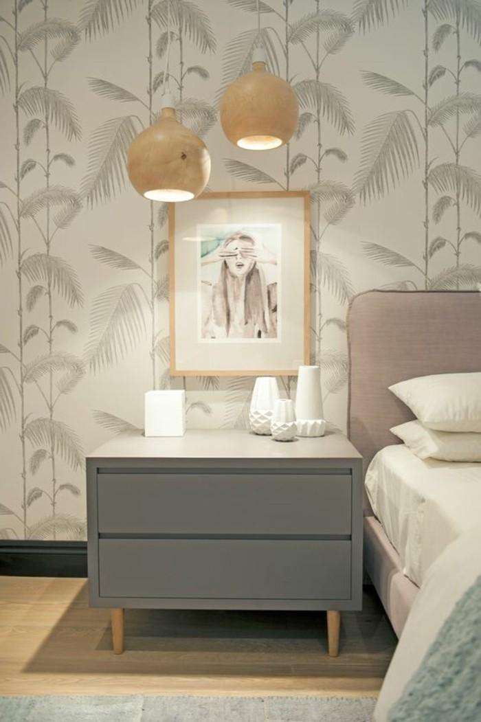 Les papiers peints design en 80 photos magnifiques for Modele de chambre a coucher design