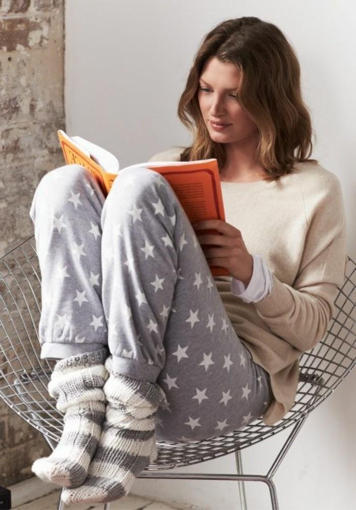 1-joli-variante-pour-le-pyjama-femme-etam-pyjama-pilou-pilou-pantalon-gris-pour-les-filles-qui-aiment-les-pyjamas