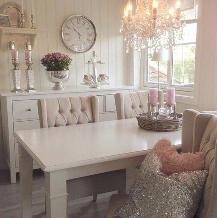 Les meubles shabby chic en 40 images d 39 int rieur for Deco salon moderne chic