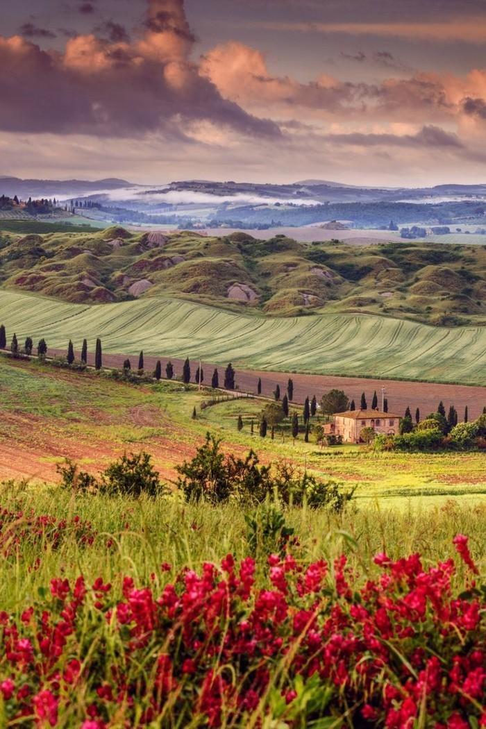 1-magnifique-image-de-toscane-visiter-toscane-séjour-en-toscane-champe-de-toscane