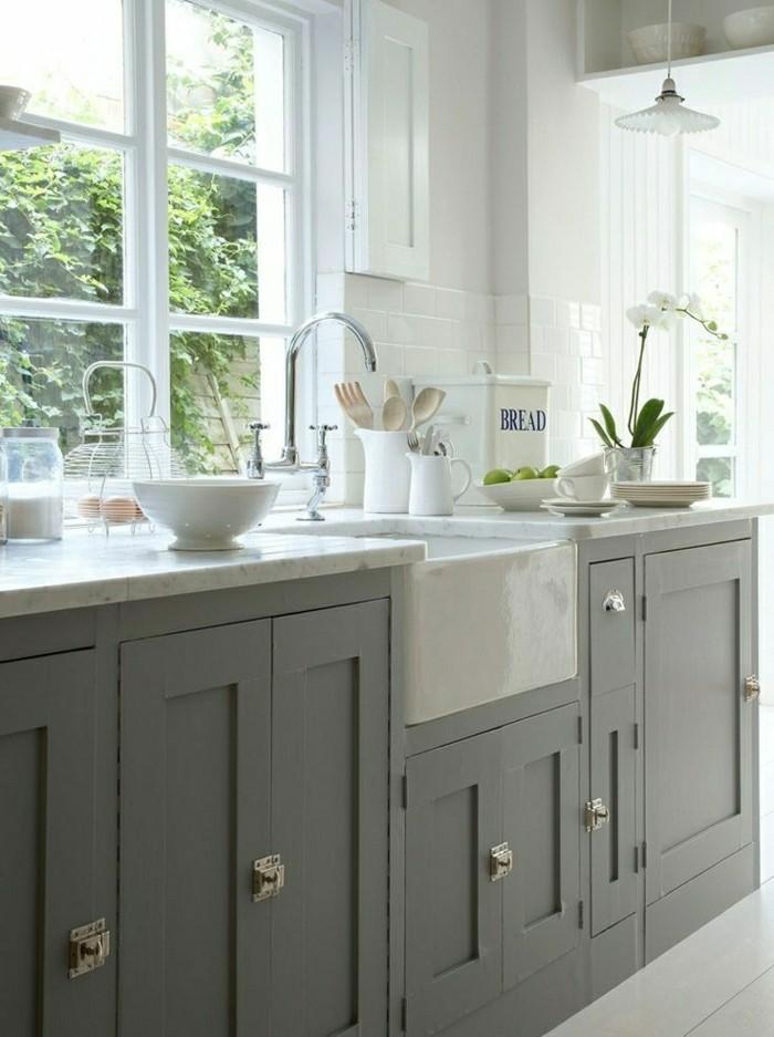 Comment repeindre une cuisine id es en photos - Faience grise cuisine ...