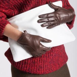 Les gants chauffants en cuir, pour être à la fois chic et au chaud!