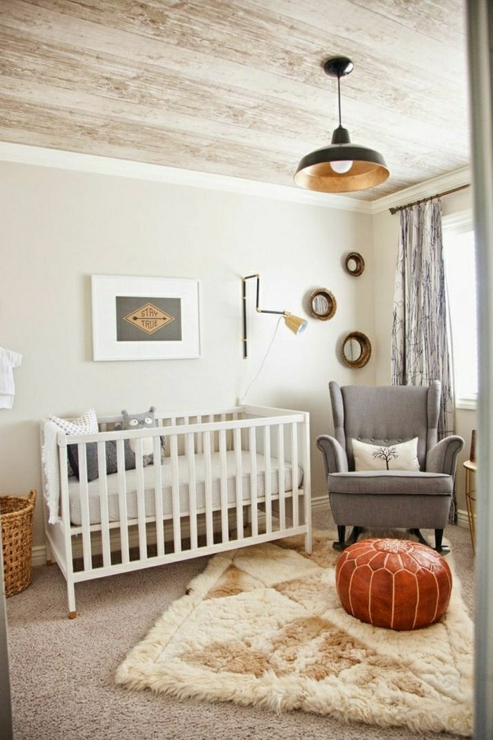 La chambre b b mixte en 43 photos d 39 int rieur for Decoration interieur chambre bebe