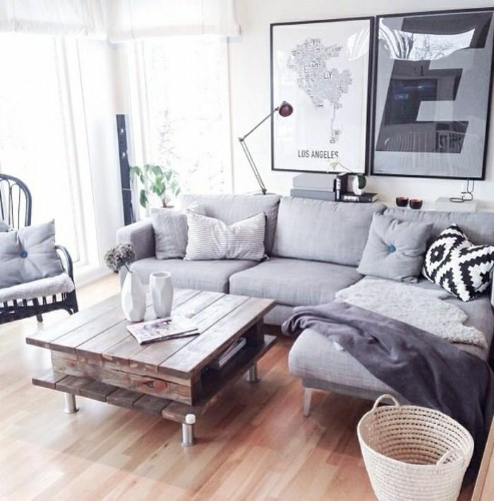 Fabriquer canape d angle en palette maison design - Fabriquer un canape d angle ...