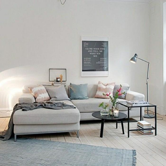 2-canapé-gris-chiné-canapé-d-angle-gris-salon-sol-en-planchers-beiges-gris-modernes