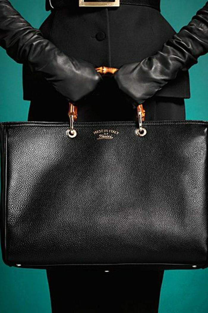 2-gant-chauffant-design-cuir-pas-cher-gants-cuir-noir-les-derniers-tendances-mode