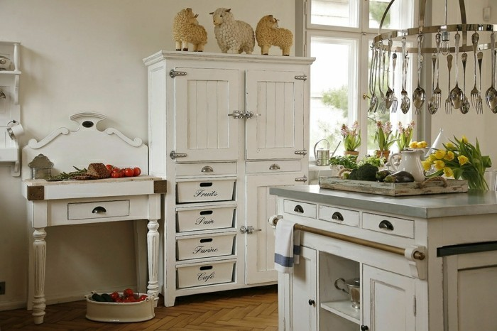meuble cuisine shabby chic stunning cuisine ilot petit versailles cuisine ilot petit versailles. Black Bedroom Furniture Sets. Home Design Ideas