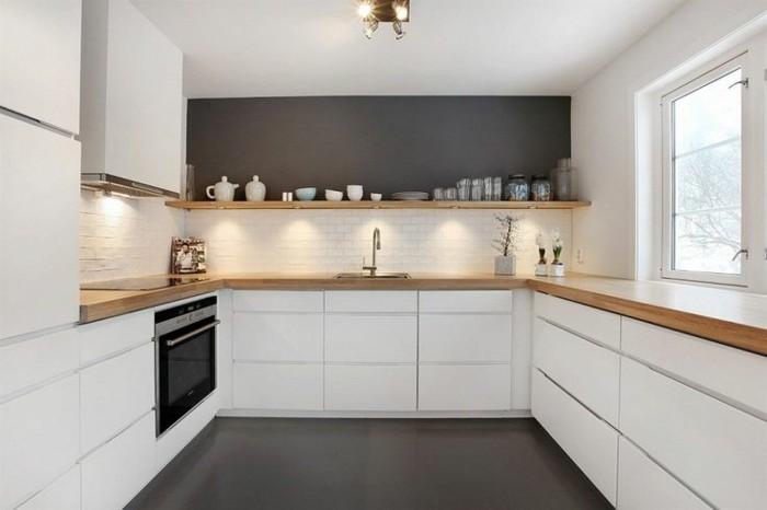 Peinture de cuisine quelle couleur pour cuisine avec - Quelle peinture pour cuisine ...