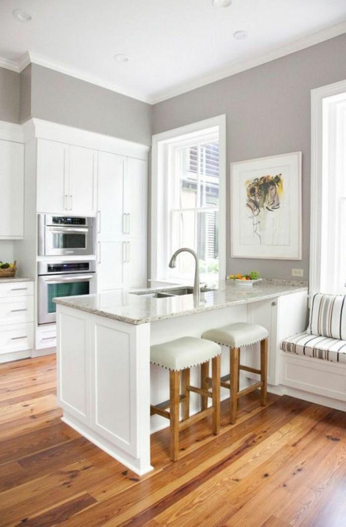 Comment repeindre les meubles de cuisine, pour rélooker la cuisine?