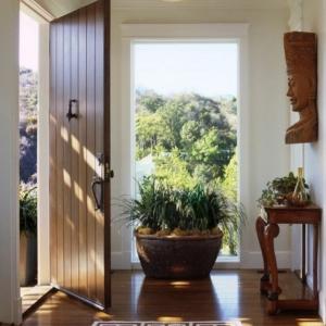 Le thème d'aujourd' hui c'est la porte d'entréе design! Voyez les meilleures variantes en photos!