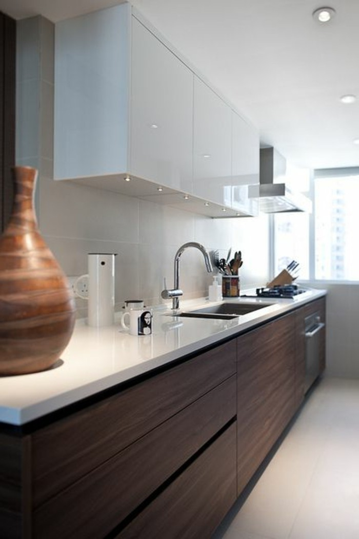 meubles de cuisine design repeindre ses meubles de cuisine