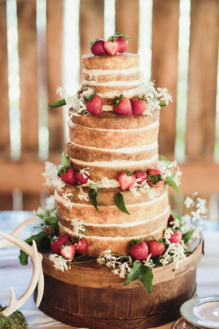 Adorable-image-de-gâteau-photo-gateau-photo-de-gateau-mariage-fraise