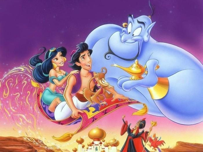 Aladdin- dessin-animé-enfant-dessin-animé-walt-disney