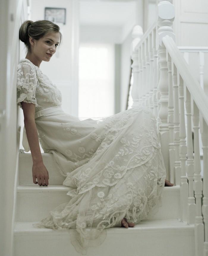 id e robe de mari e vintage id es et d 39 inspiration sur le mariage. Black Bedroom Furniture Sets. Home Design Ideas