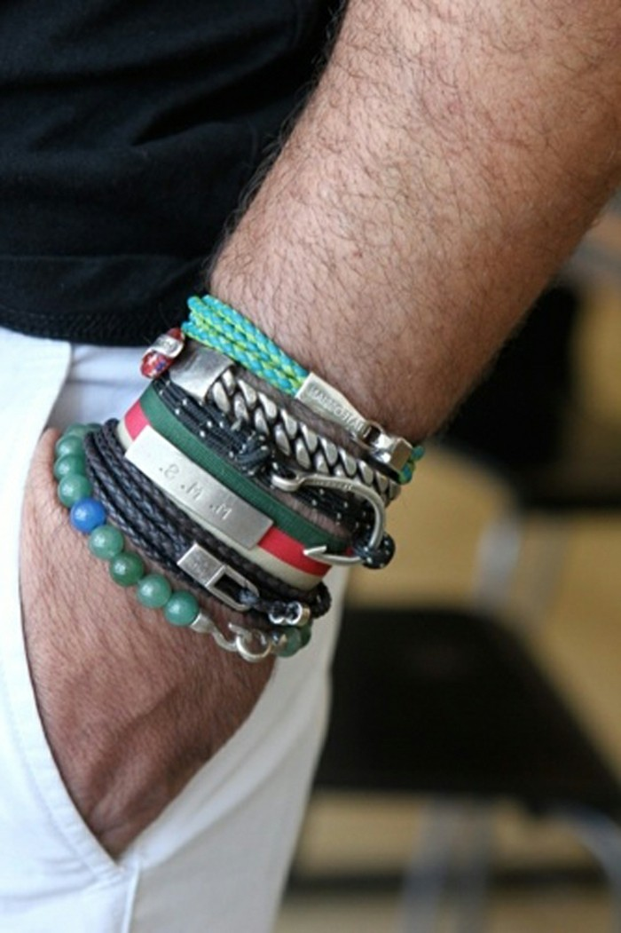 Bracelet-acier-homme-bracelet-cuir-homme-luxe-argent-resized