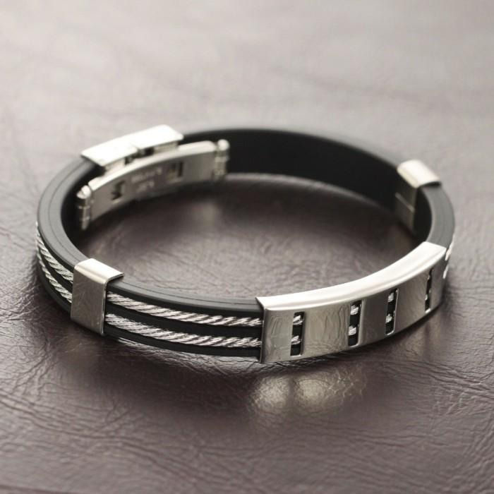 Bracelet-cuir-homme-argent-gourmette-homme-resized