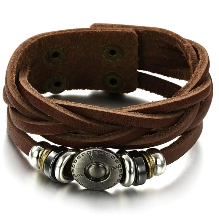 Bracelet-homme-cuir-luxe-acier-gourmette-homme-argent-luxe-resized