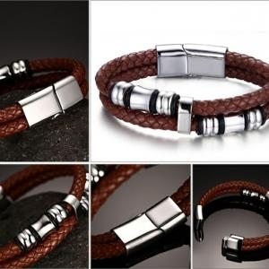 Bracelet acier homme - un accessoire de masculinité