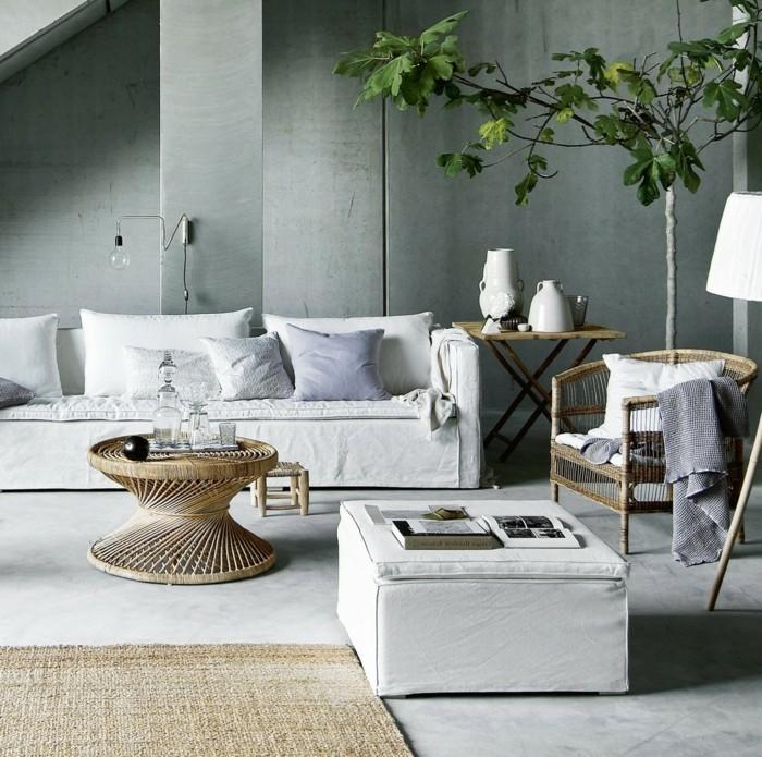 Le Canap Lin Pour Un Salon Styl En 45 Images Magnifiques